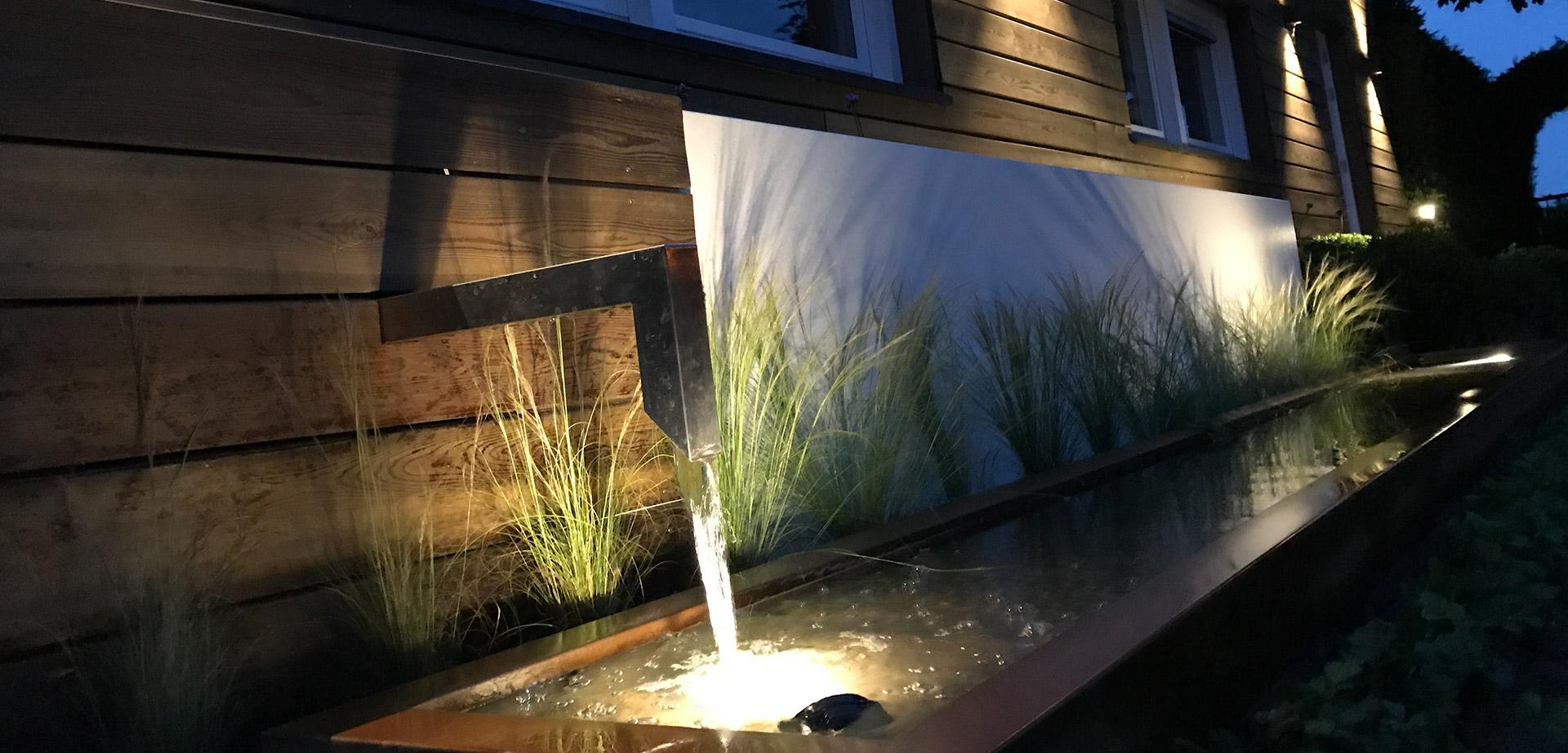 Demo tuinverlichting